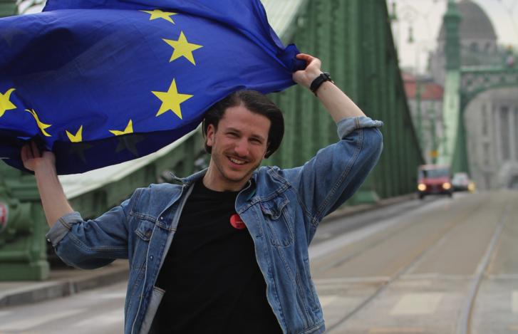 Ladányi Ármin, a House of European Affairs and Diplomacy alapítója.