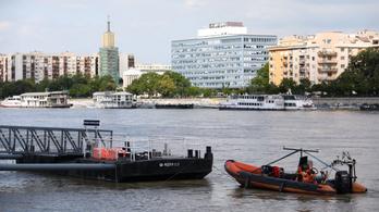 Dunai hajóbaleset: hétfőn próbálkozhatnak újra a búvárok