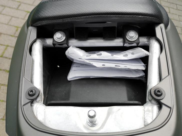 Csomagtartó, ha nem kell hátsó ülés