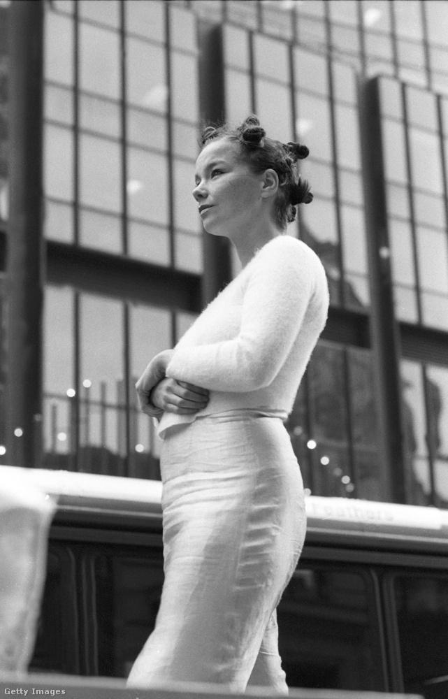 Az izlandi énekesnő 1993-ban lett a világ egyik legmenőbb-legkülönlegesebb előadója, ezek a képek azt mutatják, amint New Yorkban a Big Time Sensuality című klipet forgatja