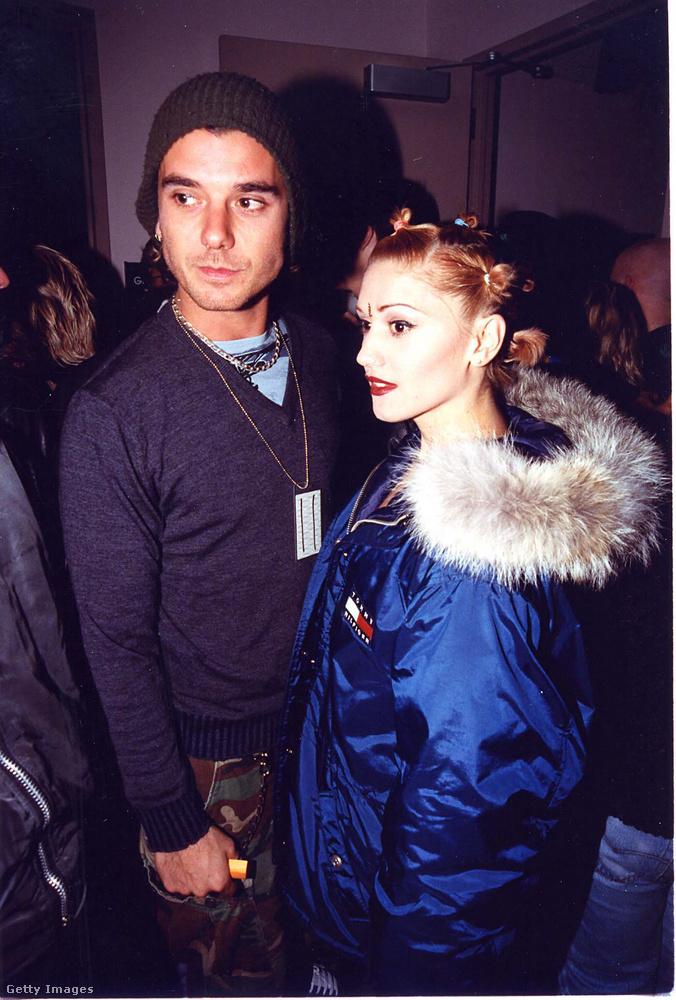 Gwen Stefani gyakran járt ilyen séróval akkoriban, és ez leendő férjét Gavin Rossdale-t nem gátolta meg abban, hogy beleszeressen a No Doubt frontnőjeként frissen világsztárrá vált énekesnőbe