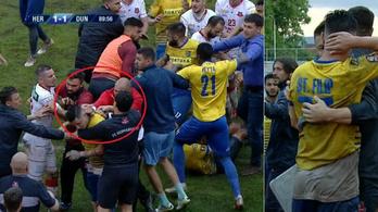 Miriuță ököllel ütötte az ellenfél játékosának nyakát