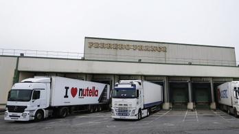Szinte teljesen leállt a termelés a világ legnagyobb Nutella-gyárában