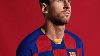 Tényleg kockás lesz a Barcelona meze jövőre