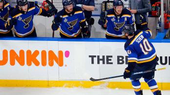 Ismét egyenlített a St. Louis, az NHL döntőjében is tart az álom