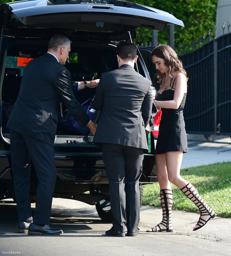 Ezek a friss fotók vasárnap készültek Los Angelesben, és a fotós szerint Osbourne éppen randira indult