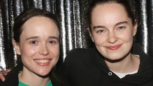 Félmeztelen képpel ünnepel Ellen Page és kedvese