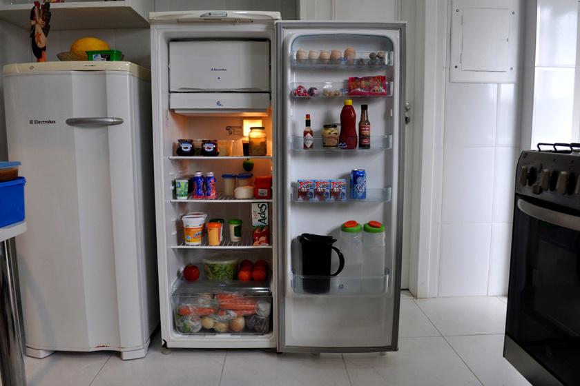 Az új hűtők természetesen már nem, de a régi hűtőszekrények egy része poliklorinát-bifenilt tartalmaz, mely bizonyítottan rákkeltő. Ez a vegyszer már 1979 óta tiltott, így igen kicsi az esélye, hogy egy hűtő megélte ezt a matuzsálemi kort, de azért érdemes óvatosnak lenni.