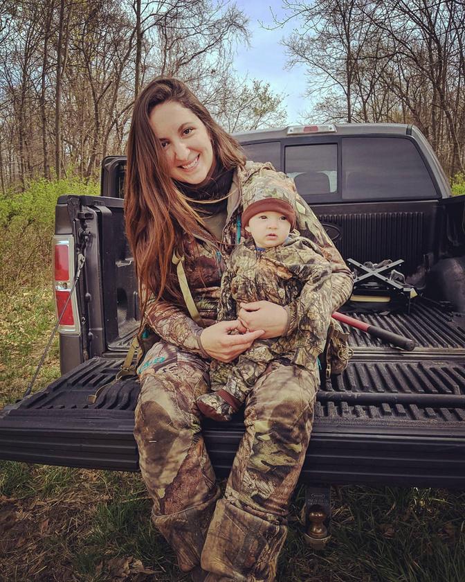 A 30 éves  Rebekah Stephens szenvedélyes vadász