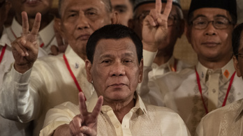 Rodrigo Duterte most éppen azt állítja, hogy ő egy