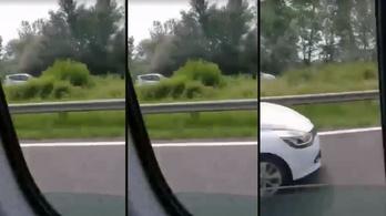 Forgalommal szembe ment 120-szal az M7-esen egy kocsi