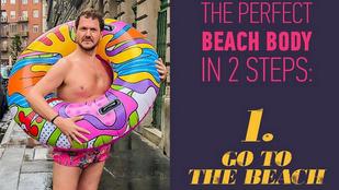 Lakatos Márk szerint mindenkinek a teste egy beach body