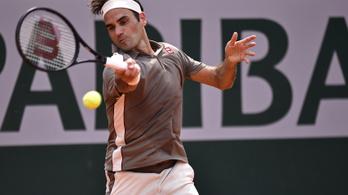 Federer-Nadal elődöntő lesz a Roland Garroson