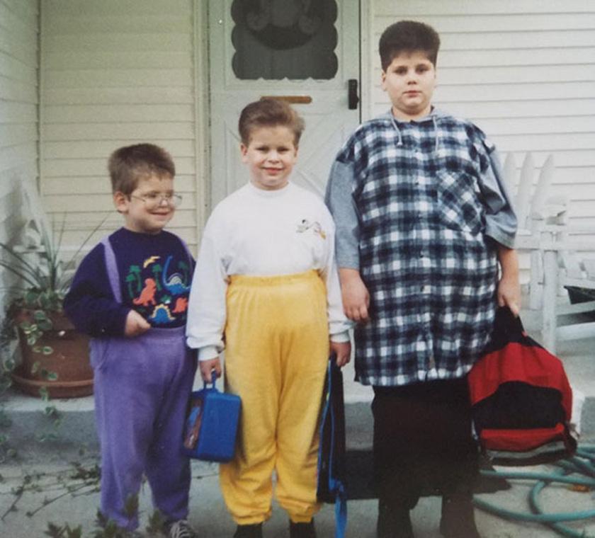 A Blunder fivérek hallgattak az édesanyjukra, és felhúzták a nadrágjukat. Ez önmagában plusz négy évtizedet adott a korukhoz.
