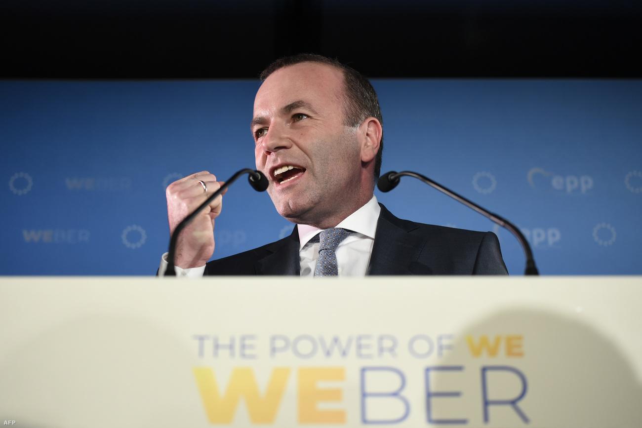 """Weber, """"egy gyenge vezető"""" lett a Fidesz által is támogatott Európai Néppárt frakcióvezetője"""