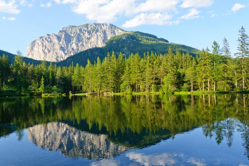 Atlantisznak is nevezik a meseszép európai tavat: Stájerország gyöngyszeme, a Grüner See