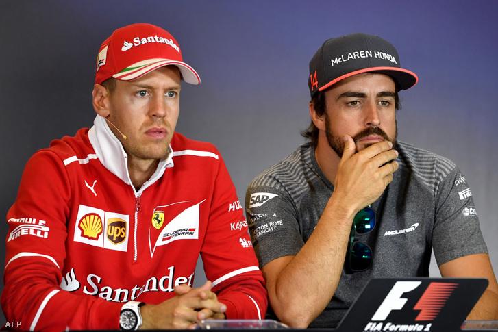 Vettel és Alonso két éve