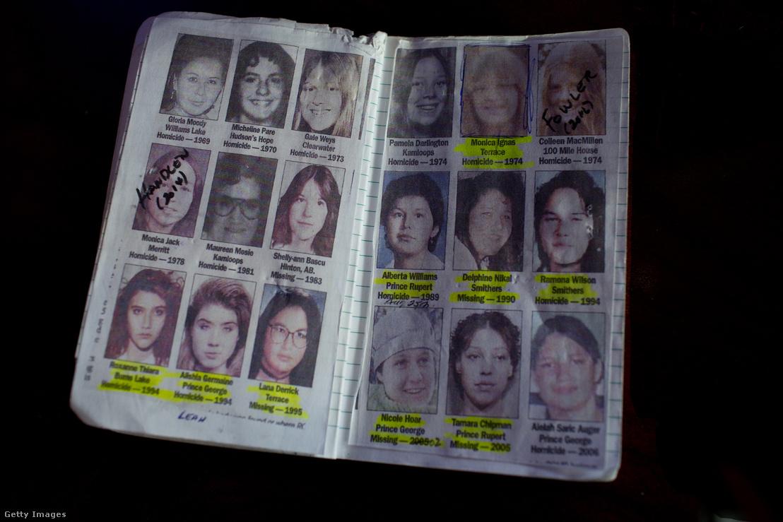 Magándetektív jegyzete a kanadai 16-os út mellett eltűnt és meggyilkolt lányokról 2016. április 20-án.