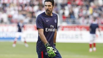 Buffon egy szezon után otthagyja a PSG-t