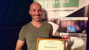 Földes András kapta a Minority Rights Group Europe Fejlesztési Újságírói díját