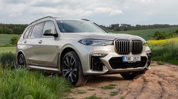 Menetpróba: BMW X7
