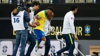 Kifordult Neymar bokája, bukta a Copa Américát