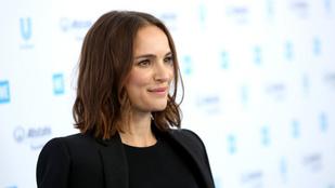A játszótéren cukiskodott Natalie Portman és kislánya
