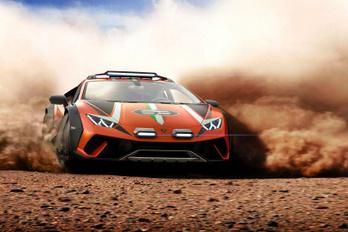 Durván néz ki a Lamborghini terep-sportkocsija