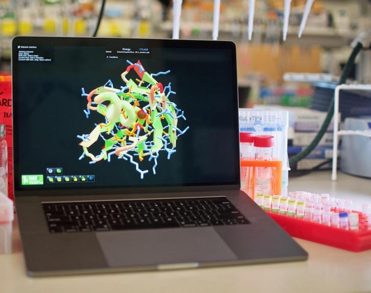 Foldit játék közben létrehozott új protein