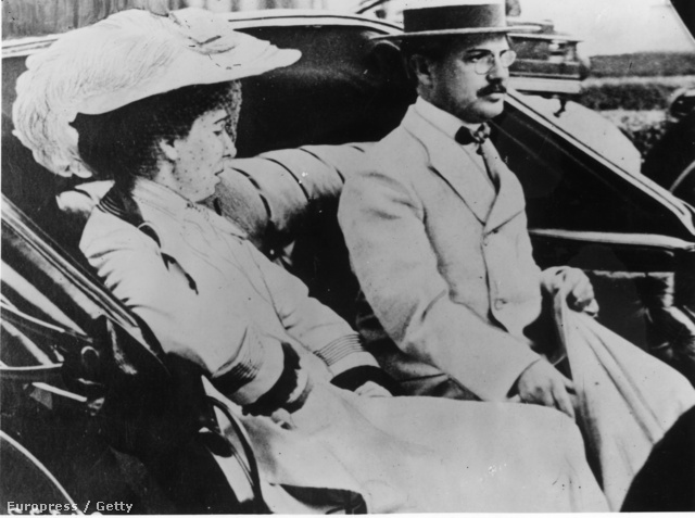 Benjamin Guggenheim és felesége,  Florette Seligman