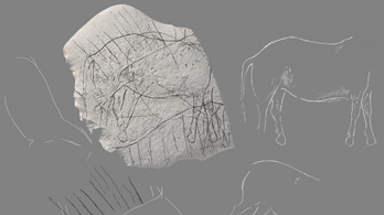 Tizenkétezer éves őskőkori véseteket találtak Franciaországban