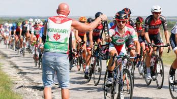 A magyar bringások BL-e a Tour de Hongrie