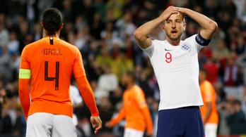 Angol bakiparádé segítette Hollandia győzelmét a Nemzetek Ligája elődöntőjében