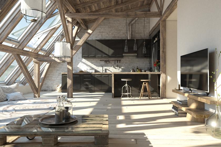 Nyers, mégis otthonos: idén hódítanak a durva felületek az egész lakásban