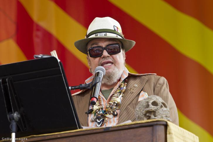 Dr. John a 2012-es New Orleans-i Jazz&Heritage fesztiválon