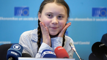 Rangos emberi jogi díjat kapott a 16 éves svéd környezetvédő lány