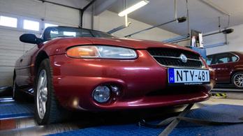 Totalcar Erőmérő: Chrysler Stratus Convertible 2.5 V6