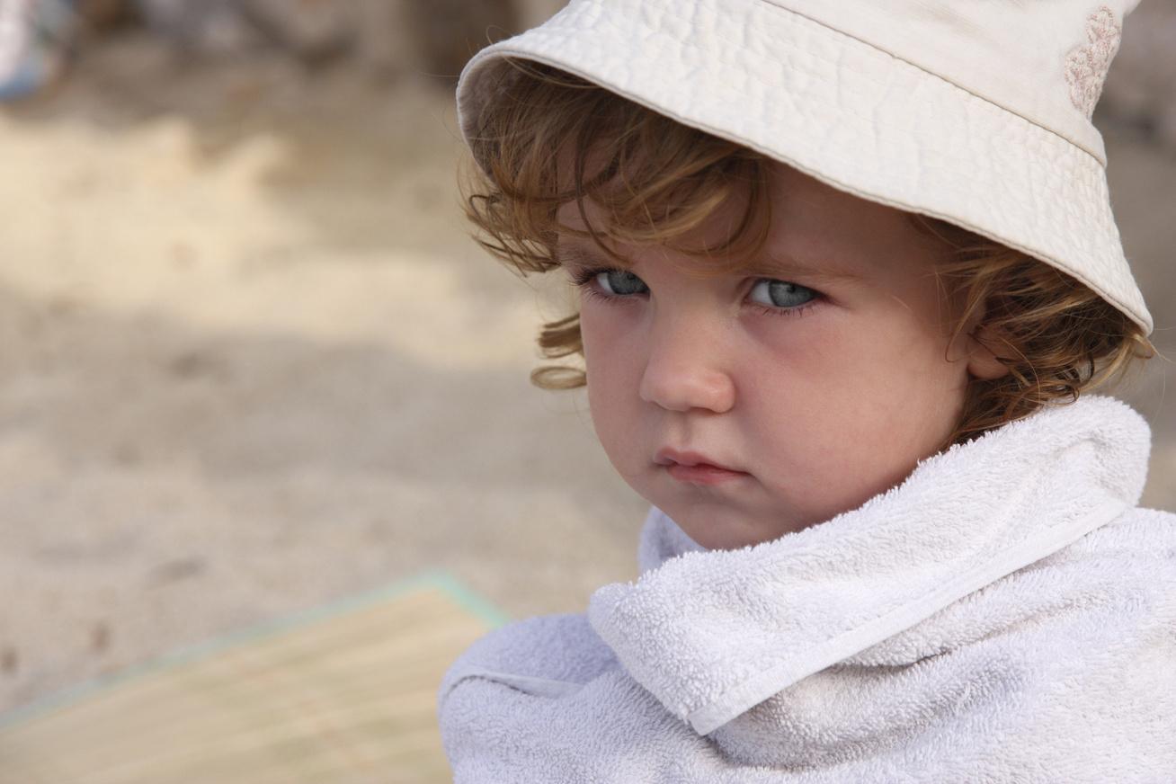 gyerek-strandon