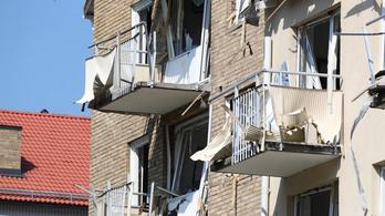 Robbanás rázott meg két svéd lakóházat
