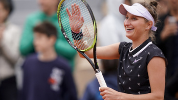 Abszurd női elődöntőket hozott a Roland Garros