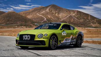 Ólomsúlyú kupéval alázna a hegyen a Bentley