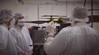 Végső fázisába ért a NASA marsi helikopterének tesztelése