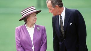 II. Erzsébet királynő úgy falja az amerikai elnököket, mint Trump a sajtburgert