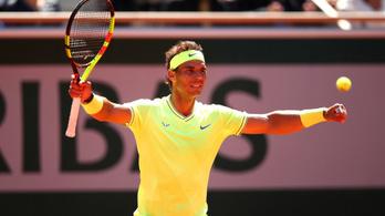 Nadal legyőzte Federert, viharos szélben nyerte az elődöntőt
