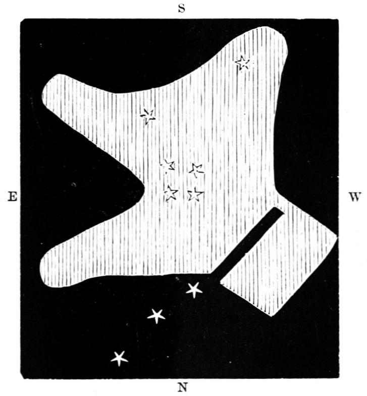 Le Gentil rajza az Orion-ködről