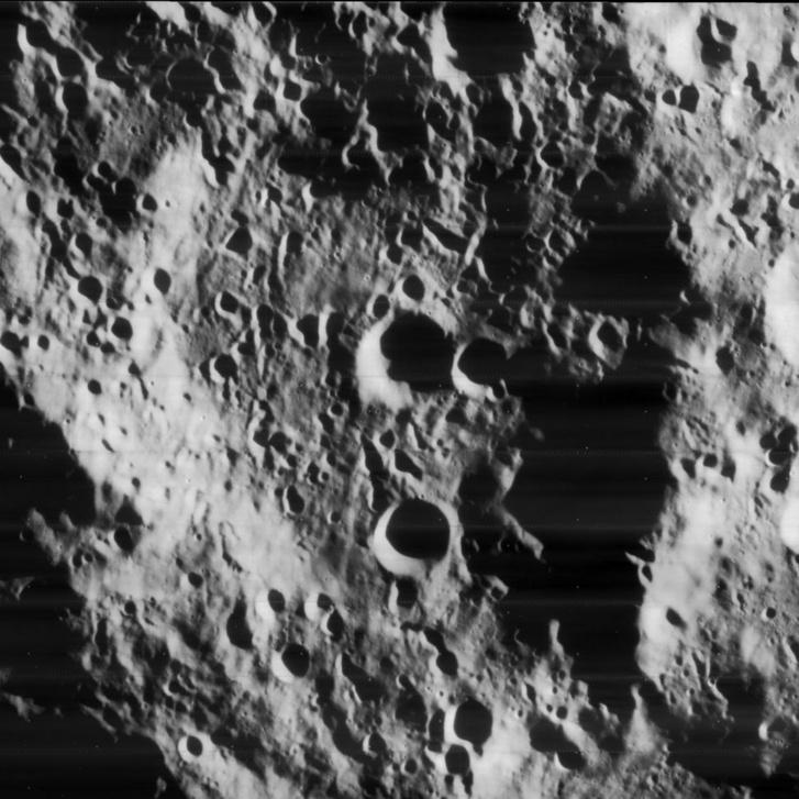 Le Gentil kráter a Holdon