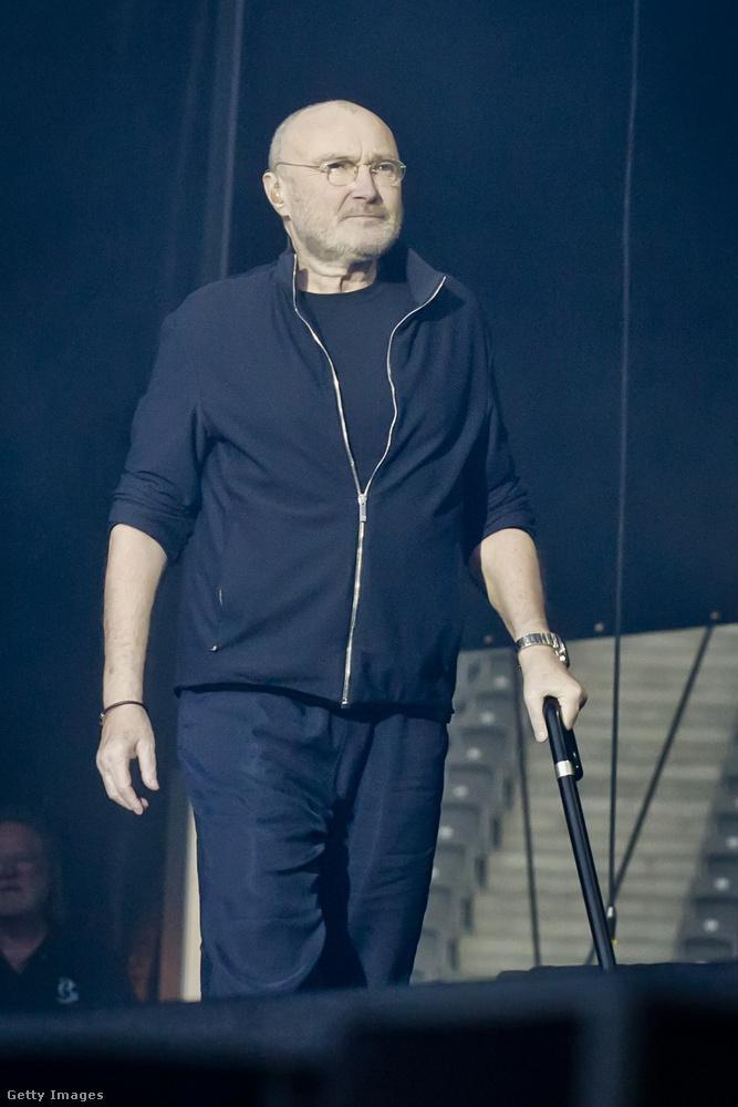 George Michael után a '80-as évek legsikeresebb brit szólóénekese valószínűleg Phil Collins volt