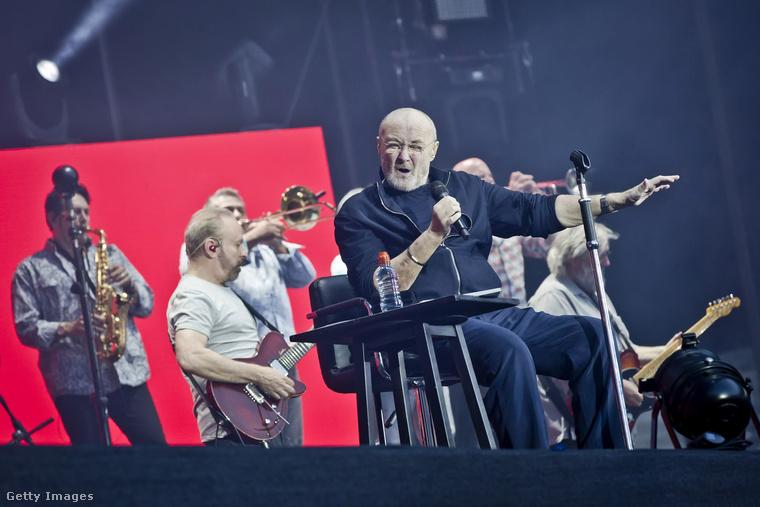 Phil Collinsnak egyrészt a hallása károsodott, másrészt a doboláshoz szükséges testhelyzettől elmozdult egy csigolyája a nyakában, idegfájdalmai vannak a kezében