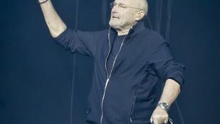 Phil Collins bottal jár, fellépéseit nem tudja végigállni