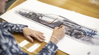 V12-es csúcssportautót alkot a McLaren F1 tervezője